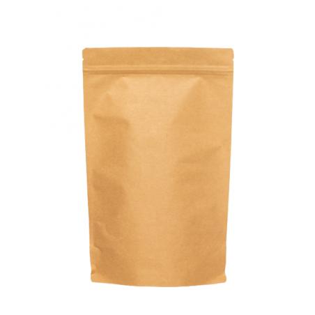 Doypack® Papier Kraft Alu - 500 ml - 130x225+2x40