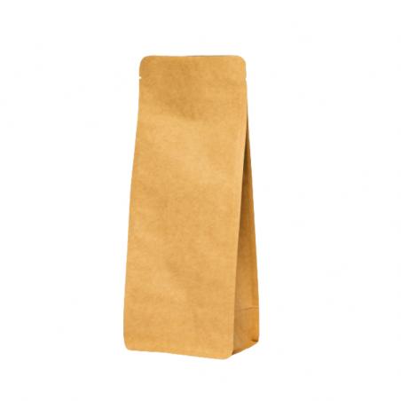 Box Pouch kraft brun 250 ml - 100x230+2x35