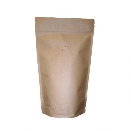 Doypack® Kraft Alu avec zip et valve
